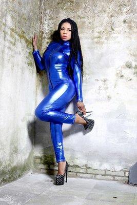 catsuit blauw